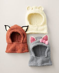 Hand-Crocheted Critter Hood by Peruvian Trading Company