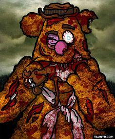 Versión zombie muppet