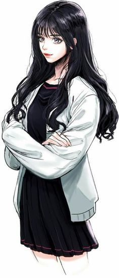She's an amateur boxer. - The Universe of Manga Pretty Anime Girl, Cool Anime Girl, Beautiful Anime Girl, Kawaii Anime Girl, Anime Art Girl, Chica Anime Manga, Manga Girl, Anime Chibi, Pretty Art