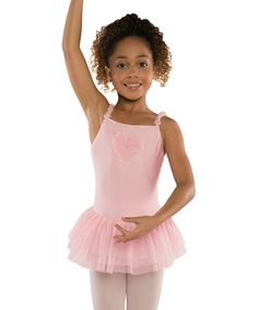 c56d333a62c12 Danshuz Pink Heart Ruffle Leotard - Girls. Dance WearLeotardsToddler ...