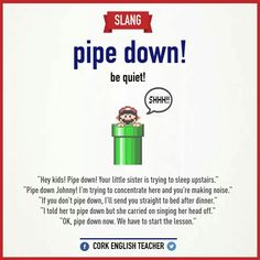 Idioms - Repinned by Chesapeake College Adult Ed. We offer free classes on the Eastern Shore of MD to help you earn your GED - H.S. Diploma or Learn English (ESL) . For GED classes contact Danielle Thomas 410-829-6043 dthomas@chesapeake.edu For ESL classes contact Karen Luceti - 410-443-1163 Kluceti@chesapeake.edu . www.chesapeake.edu