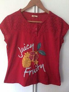 New Joe Browns Red Latin Spirit Dress Size 12 Last 2 Tag Rrp £65