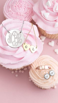 Speak from the heart this Valentine's Day with meaningful personalized jewelry.