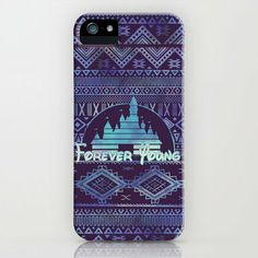 forever young iPhone Case by Sara Eshak