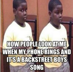 This literally happened to me :-) I ♥ The Backstreet Boys and I don't care who knows it! Funny Captions, Funny Memes, Backstreet Boys Songs, Backstreet's Back, Boy Meme, Nick Carter, Five Guys, Education Humor, People Magazine