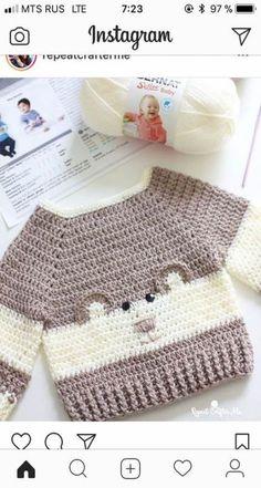 24 Ideas Crochet Afghan Baby Boy Knitting Patterns For 2019 Baby Boy Knitting Patterns, Baby Clothes Patterns, Crochet Baby Clothes, Crochet Blanket Patterns, Baby Patterns, Baby Knitting, Knitting Sweaters, Afghan Patterns, Knitting Charts