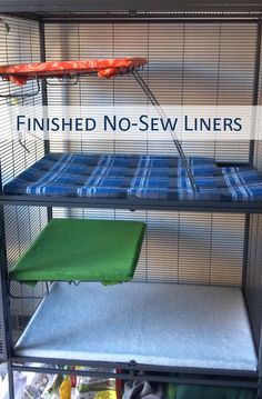 This tutorial will explain how to make no-sew fleece liners for your rat or other small animal cage. I have a Double Critter Nation from Midwest, so those are the dimensions included here, ...