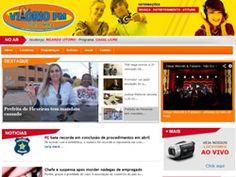 Site desenvolvido para a rádio Vitório FM