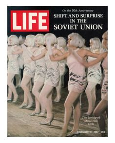 Russian Dance Hall Girls, Special Report on Life in the Soviet Union, November 10, 1967 by Bill Eppridge