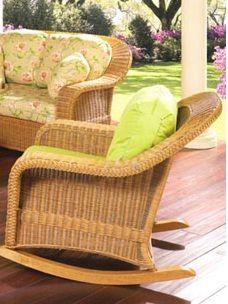 Matlache Rocker Wicker Rocking Chair Swivel Glider Outdoor