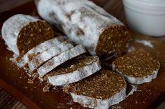 Citromhab: Csokiszalámi