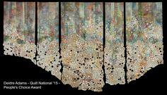 Art Quilts International—Abstract & Geometric by Martha Sielman – Maria Shell Textiles, Canvas Drop Cloths, Vision Art, Book Quilt, Quilt Art, Art Quilting, Modern Quilting, Fabric Art, Lace Fabric