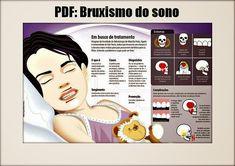 O bruxismo do sono é uma atividade oral caracterizada pelo ranger ou apertar dos dentes durante o sono e que, geralmente, está associada com... Smile Dental, Oral Health, Dentistry, Teeth, Humor, Happy, Blog, Nursing, Pasta