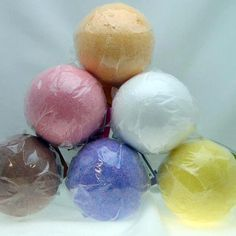 Morning Glory Soaps Bath Bombs (6) by Morning Glory Soaps Bath Bombs. Save 57 Off!. $15.00. 6 Nice sized 4.33 oz EACH bath bomb.. Magnolia alleviate stress, Mango exhilarating.. Aromatic silky smooth skin without lotions.. Rose mild sedative, Rooibos anti aging and wrinkling.. Lavender calming, Lemongrass citrus flavor.. 6 nice hefty sized bath bombs offer a quick get away spa experience right in the comfort of your own home. Bath Bombs leave your skin feeling smooth, silky, r...