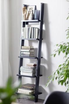 Storage van Tenzo @ base-x by Vandermeeren Interieurs Ladder Bookcase, Dark Colors, Light In The Dark, Shelves, Living Room, Interior Design, Storage, House, Inspiration