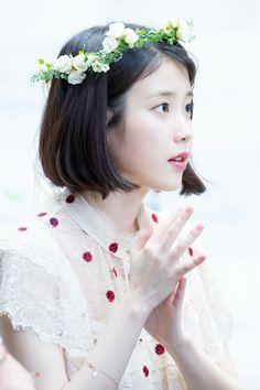 IU (^(I)^) Iu Short Hair, Iu Hair, Park Bo Young, Shot Hair Styles, Ulzzang, Hair Reference, Korean Actresses, Korean Actors, Korean Celebrities