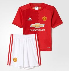 MANCHESTER UNITED HOME 2016/2017 FOOTBALL SHIRT KIDS