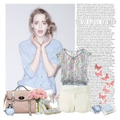 """""""The Girls who Gossip"""" by spotlightonme ❤ liked on Polyvore featuring Fendi, Lanvin, Kate Spade, Van Cleef & Arpels, Jackpot, shu uemura, print, pink, pastels and shock"""