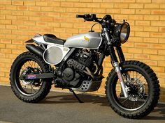 honda nx650 dominator streettracker project.