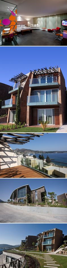 The KUUM Hotel and residences are the first to bring an innovative concept for the boutique lifestyle and resorts to the Bodrum area. Resorts, Spa, Concept, Boutique, Mansions, Lifestyle, Architecture, House Styles, Home Decor