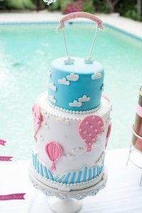 Hot Air Balloon Cake | Kate Bentley Events Blog