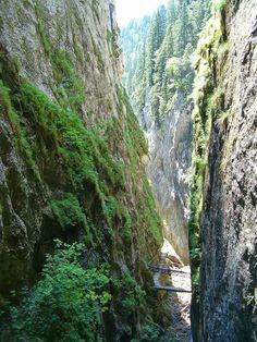 Romania's gorges (Chei in Romania)
