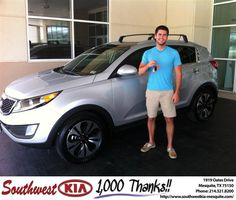 "https://flic.kr/p/v3kfY1 | #HappyAnniversary to Bradley Gillard on your 2013 #Kia #Sportage from Jerry Tonubbee at Southwest Kia Mesquite! | <a href=""http://www.southwestkia-mesquite.com/?utm_source=Flickr&utm_medium=DMaxx&utm_campaign=DeliveryMaxx"" rel=""nofollow"">www.southwestkia-mesquite.com/?utm_source=Flickr&utm_...</a>"