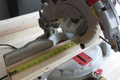 The 6 basic power tools that can help you build nearly every DIY project imaginable! A great list for every aspiring diy'er to have in their wood shop.
