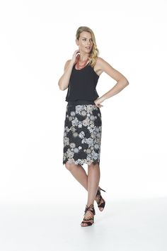 Ballet Skirt, Floral, Skirts, Fashion, Moda, Fashion Styles, Florals, Skirt