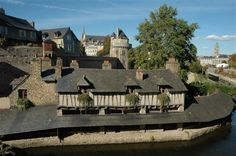 Remparts de Vannes. Bretagne
