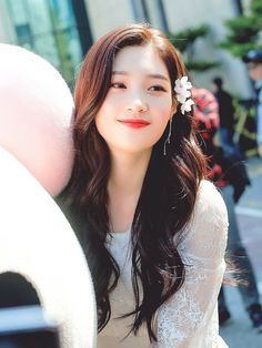 DIA-Chaeyeon 190412 #MyFirstFirstLove Kpop Girl Groups, Korean Girl Groups, Kpop Girls, Kdrama, Jung Chaeyeon, Choi Yoojung, Kim Sejeong, Idole, Creative Hairstyles