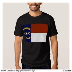 North Carolina, flag Tee Shirt