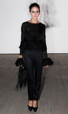 Olivia Palermo At The Ever Changing Face Of Beauty Event AW12
