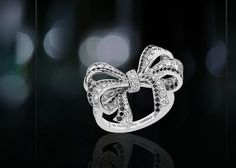 Lovely bow ring.