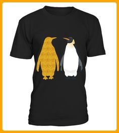 Cute Gold Penguin Shirt - Pinguin shirts (*Partner-Link)