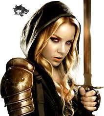 Afbeeldingsresultaat voor female warrior sword