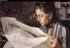 Anders Zorn Emma Zorn reading
