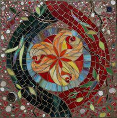 Second Chakra - Svadisthana, Mosaic Labyrinth, 10/52