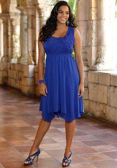 love the blue! @ Cato Fashions