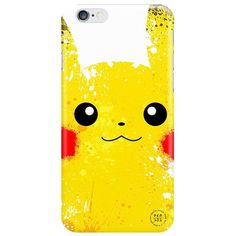 Amazon.com: Pokemon Pikachu iPhone 6 Case - Yellow Pocket Monster... ($4.87) ❤ liked on Polyvore featuring accessories and tech accessories