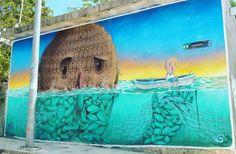 #womanisttravel #streetart #mexico #mexicolors #streetgraffiti #streetgraffitimexico #mexicanstreetartist #mexicanstreetartists #graffuturism #graffitiart #graffiti #visitqroo #qroo #quintanaroo #cancun #mexicanoscreativos #graffitimex #graffitimexico #mexicograffiti #streetartmexico