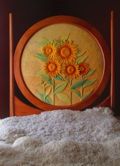 Sunflower Childs Bed