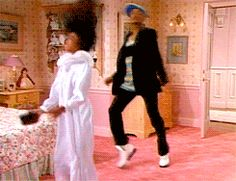 "There's never a bad time to dance. / Beyonce stole this move from Fresh Prince :D  | 25 Crucial Lessons ""The Fresh Prince Of Bel-Air"" Taught You About Life"
