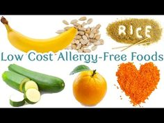 Low cost allergy-free foods