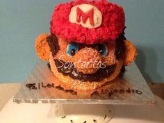 Mario Bross cake hecho por Sontartas