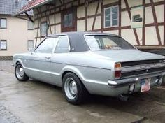 Ford Taunus with banded steelies