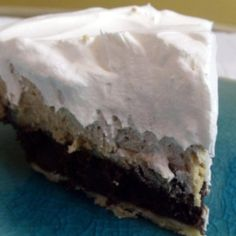 Fudge Brownie Peanut Butter Pie