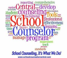 "School Counselor Central, www.schoolcounselorcentral.com Recent testimonial: ""I love being able to have all of my student notes and details about meetings in one, organized place. It is easy to go back and refer to a previous conversation or meeting to plan for further actions. It is a great way to keep track of my time and the ways I use my time. I highly recommend School Counselor Central! ' Kelly Tarr, School Counselor, Elizabeth C-1"