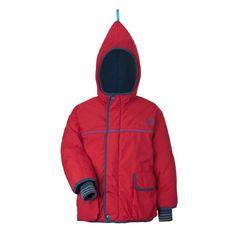 New Finkid Jacket - Winter parka - Skijacket - Zwergen red/navy