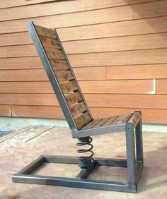 Bighearted diy welding projects Read the Summary Welded Furniture, Industrial Design Furniture, Steel Furniture, Diy Furniture, Retro Furniture, Rustic Furniture, Diy Welding, Welding Table, Welding Projects